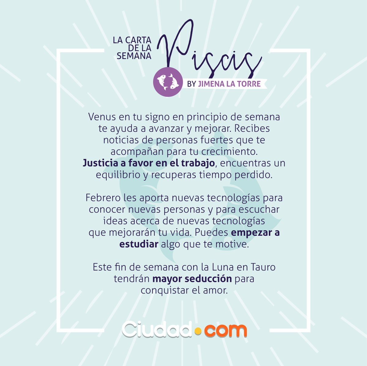 Libra Horoscopo Semanal Ciudad Magazine On Twitter