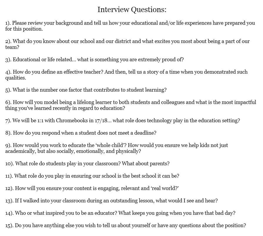 Dr Justin Tarte on Twitter \ - technology interview questions