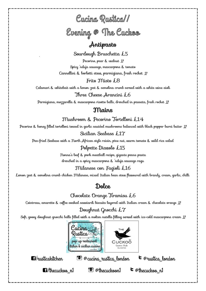 Cucina And Co Menu Cucina Rustica On Twitter