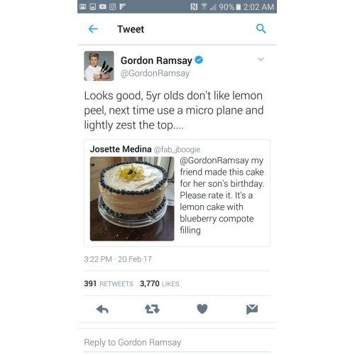 Medium Crop Of Gordon Ramsay Tweets