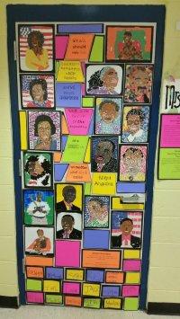 black history door decorations | Billingsblessingbags.org