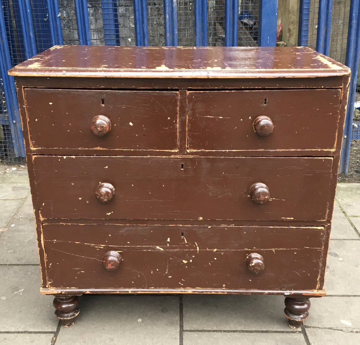 Victorian Pine Chest Of Drawers Proper Old On Twitter