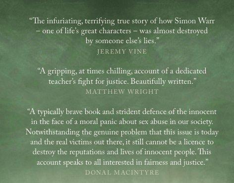Simon Warr on Twitter \ - presumed guilty book