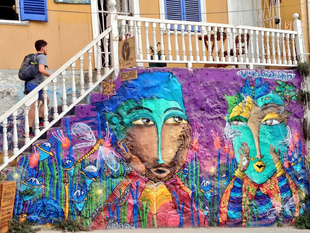Arte Urbano Valparaiso World Travel Feet On Twitter