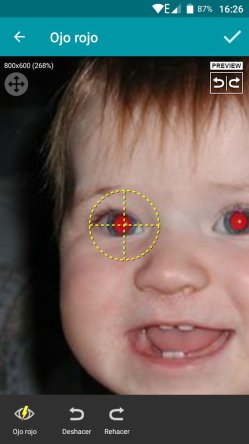 Small Of Red Eye Remover