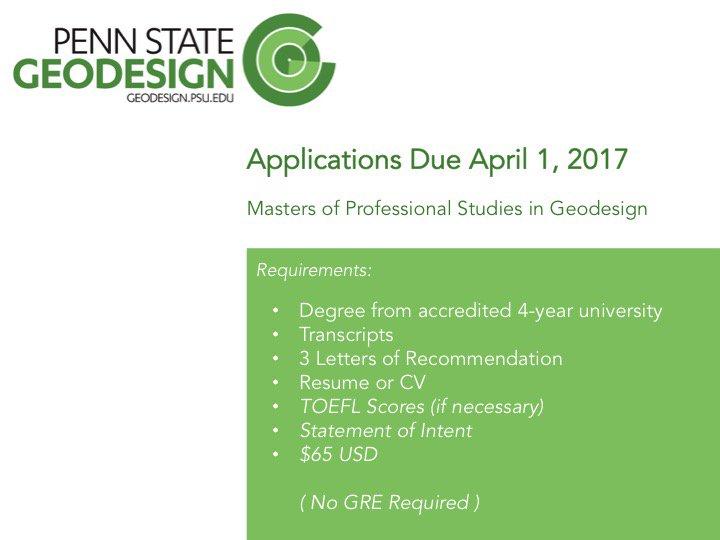 Penn State Geodesign on Twitter \