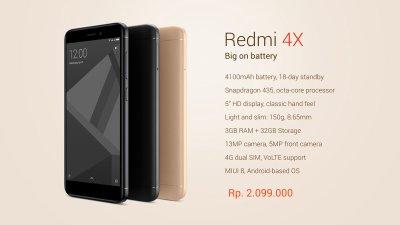 Redmi Note 4 (snapdragon) vs Redmi 4X? : Xiaomi