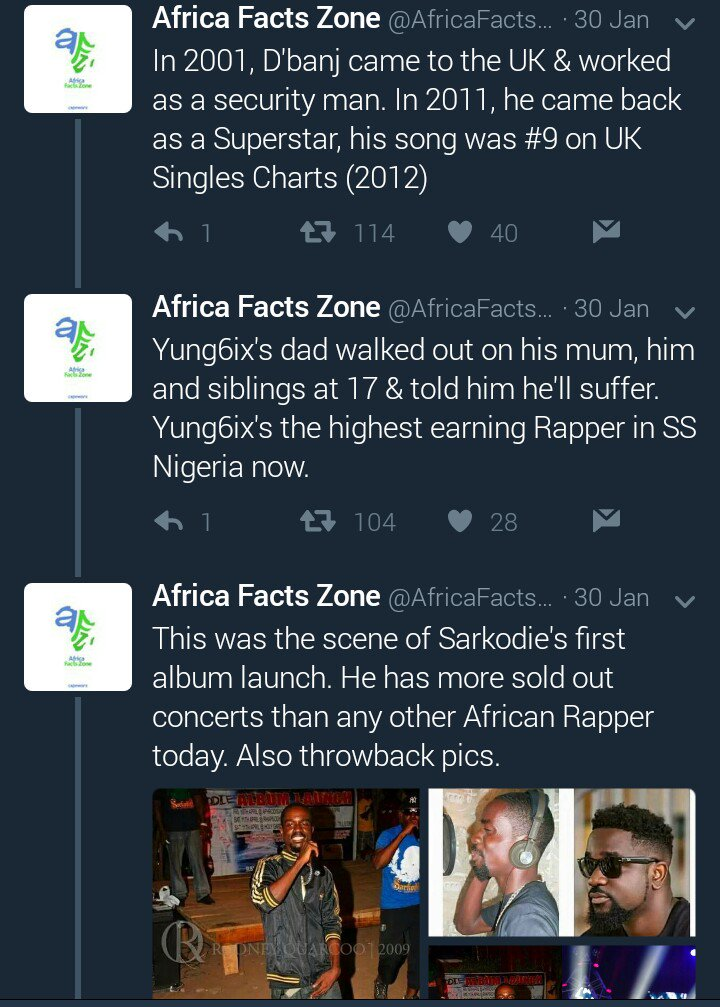 Africa Facts Zone on Twitter \