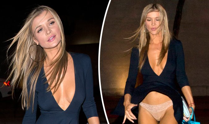 Joanna Krupa Flashes Everything As She Suffers