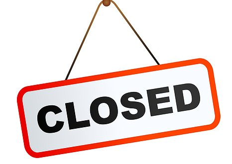 Holiday Closure Sign Template cvfreepro - holiday signs for closing office