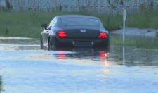 Greg Hardy's Worst Week Ever Ends With His Bentley Getting Stranded In A Flood