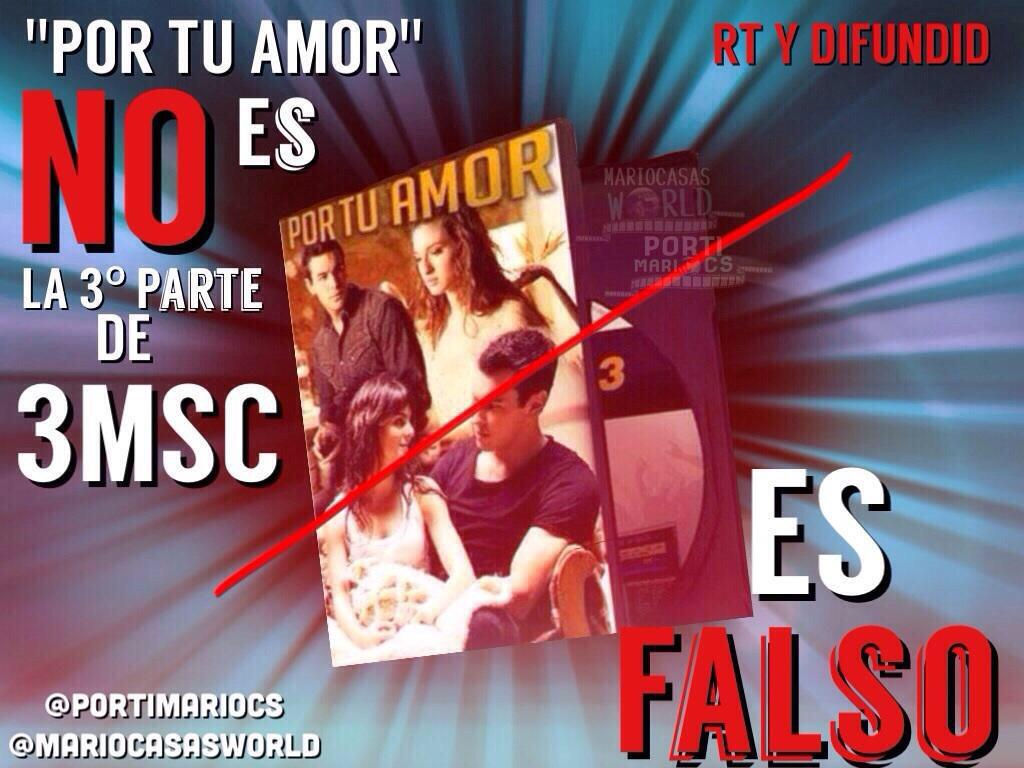 3msc Libro Mario Casas World On Twitter Quotno Os Dejeis EngaÑar La