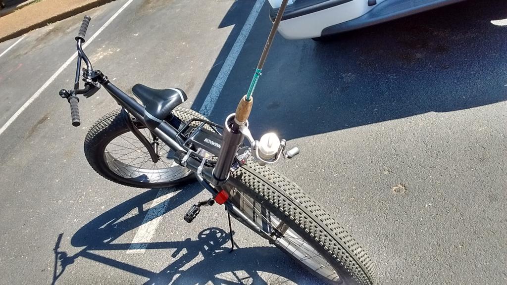 Tripodii On Twitter Quotdiy Fishing Rod Holder For My