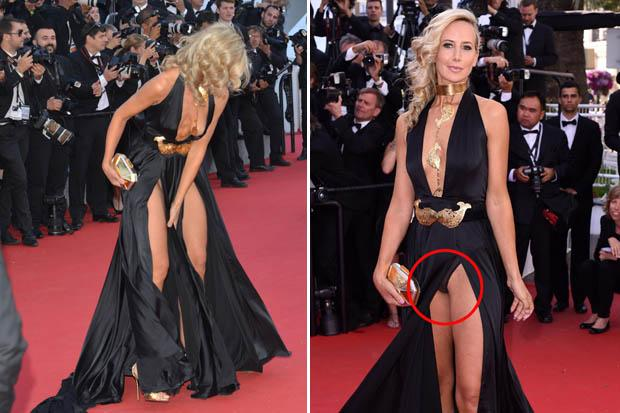 Oh The Shame Star Flashes Crotch And Boobs In Double