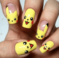 23 awesome nail art designs inspired by pokmon ...