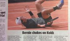 Australian Newspaper Busts Out A Great Headline For A French Open Match