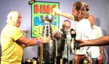 Patrick Kane Brought The Stanley Cup To A Jimmy Buffett Concert And Sang/Played The Tambourine On Stage