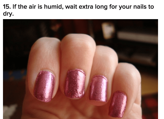 21 Tricks To Make Your Manicure Last As Long As Possible
