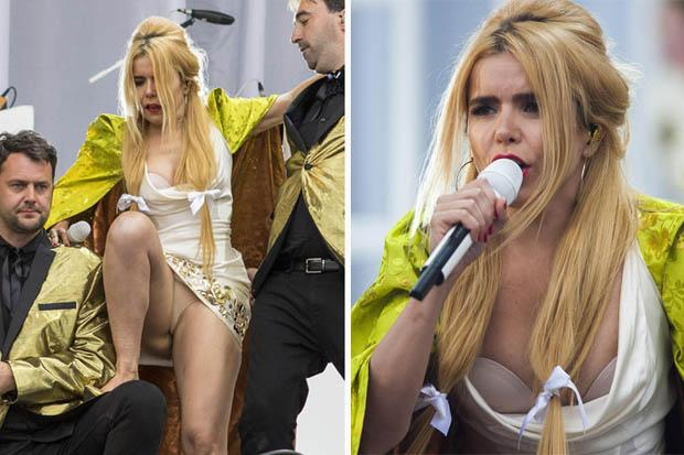 Daily Star On Twitter Quotwhoops Paloma Faith Suffered A