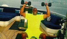 Magic Johnson Shows You How Rich He Is By Getting In A Workout On His Yacht