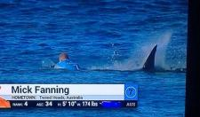Surfer Almost Gets Eaten Alive By A Shark Before A Competition