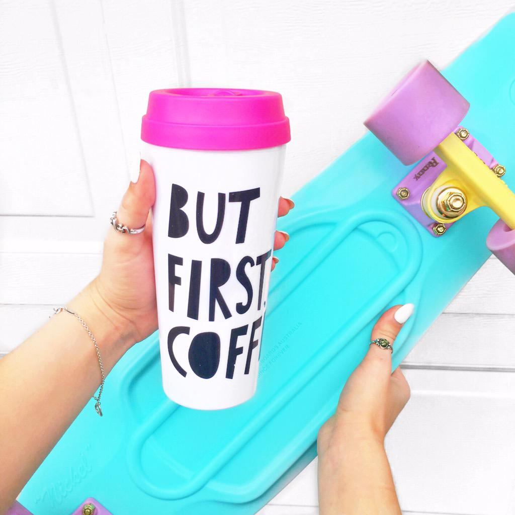 Penny Skateboards Girl Wallpaper Alishamarie On Twitter Quot But First Coffee ♡ Https T Co