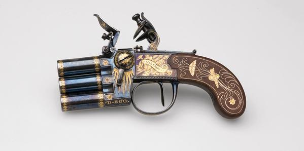 3-barelled Pistol