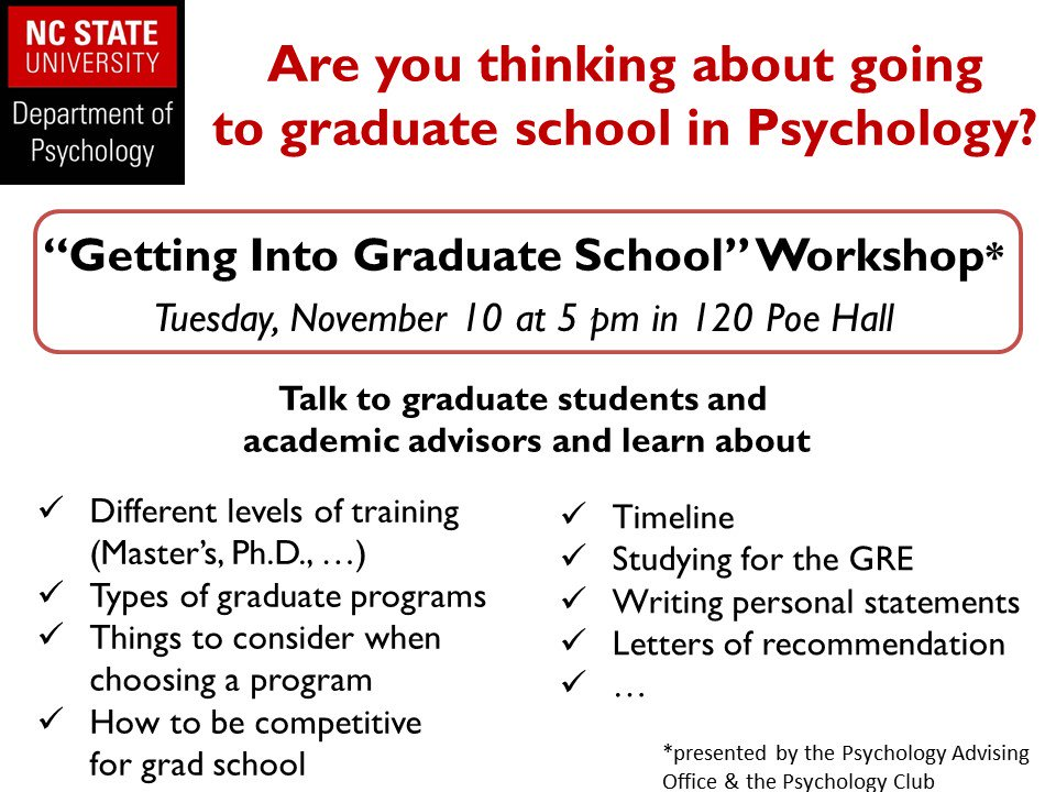 NC State Psychology on Twitter \