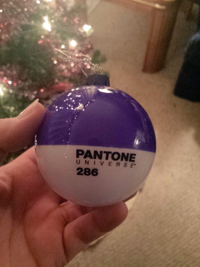 Pantone Christmas Ornaments Pantone286 Hashtag On Twitter
