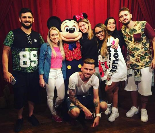 Rumour: Lucas Lima is dating Neymars sister as they vacation together at Disney [Pictures]