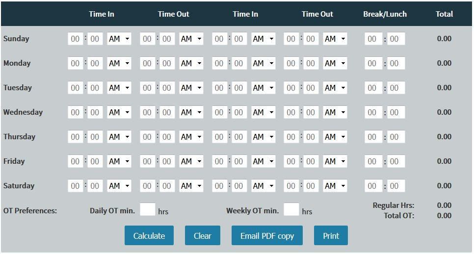 Time Clock Software on Twitter \
