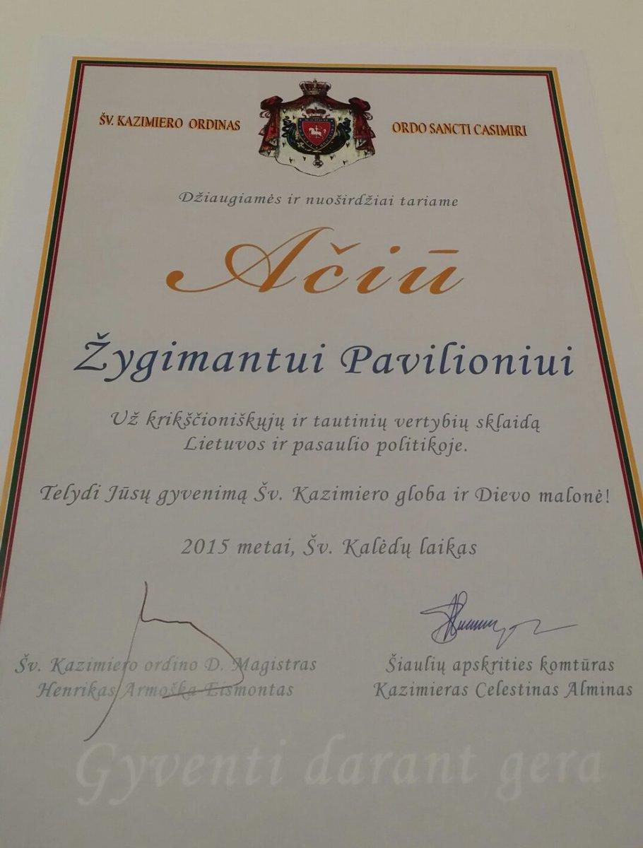 ŽygimantasPavilionis on Twitter \ - gratitude certificate