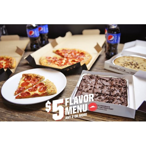 Medium Crop Of Pizza Hut 5 Dollar Flavor Menu