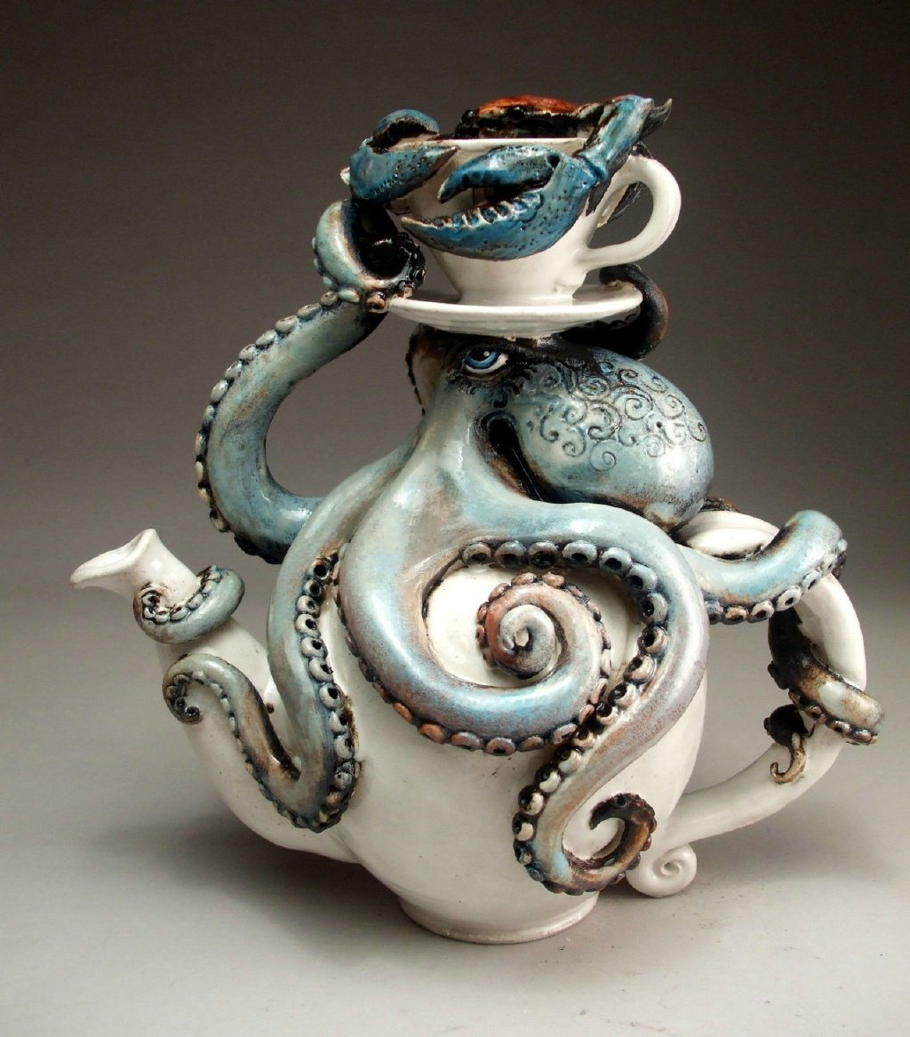 Ceramic Octopus Aesthetic Sharer Zhr On Twitter Quotoctopus Ceramic Art