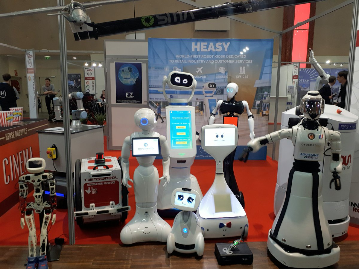 Salon De La Robotique Hease On Twitter