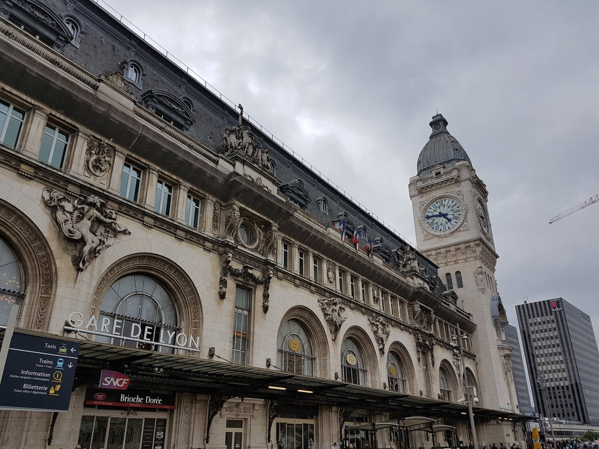 Gare De Paris Brettfromoz On Twitter