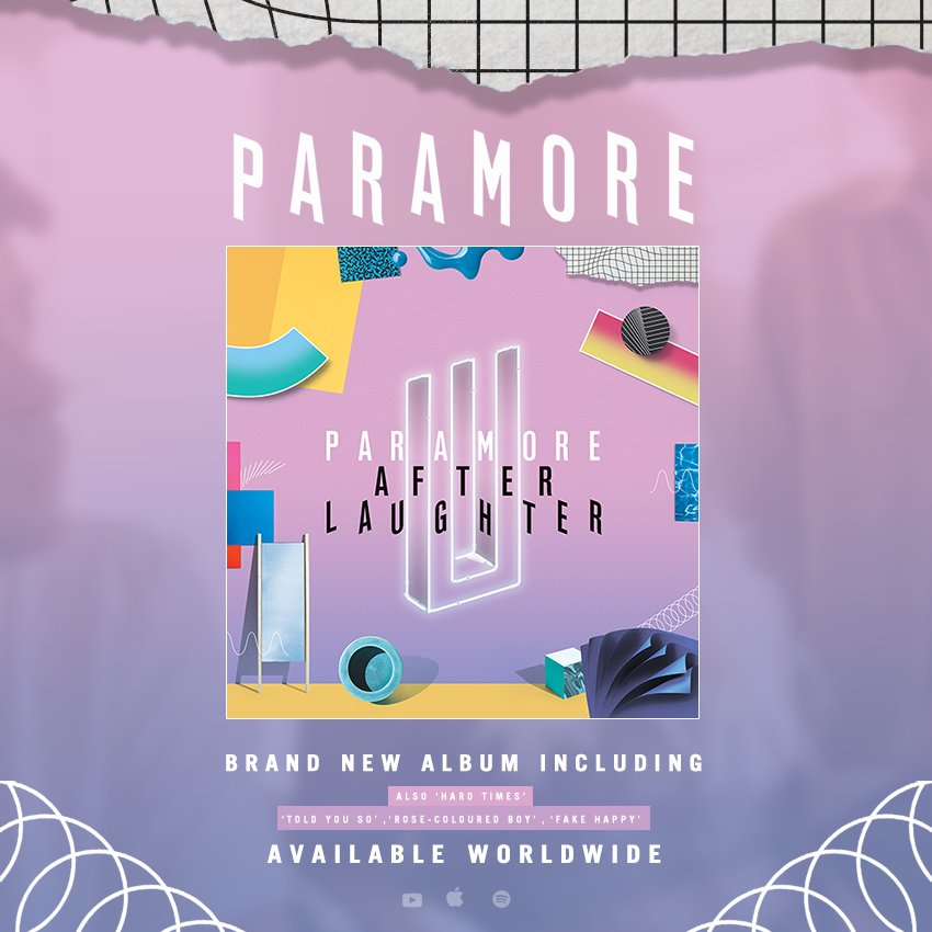 After Laughter says goodbye to Billboard charts Paramore-Music