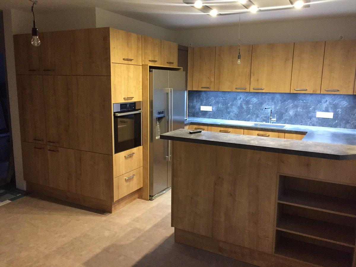 Nischenverkleidung Küche | Ikea Dachgeschoss Küche Clip Küche