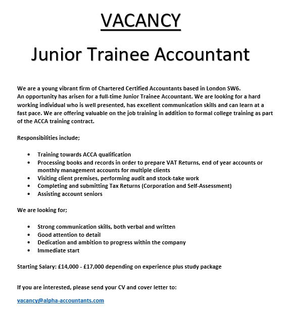 Beautiful Trainee Accountancy Resume Mold - Resume Ideas - bayaarinfo - trainee accountant cover letter