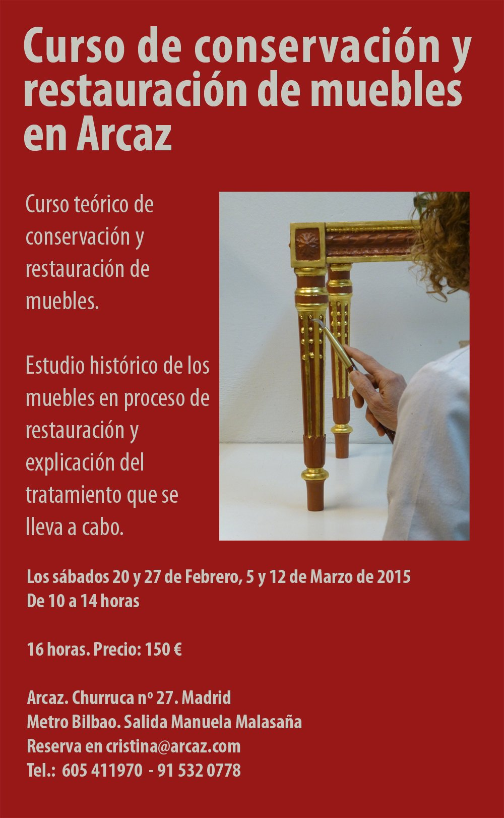 Cursos Restauracion Muebles Madrid Escrbc Madrid On Twitter