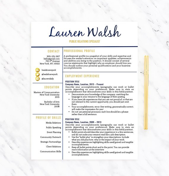 Resume Template Shop (@careerresumeinc) Twitter - Concise Resume Template