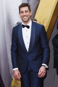 Aaron rodgers is wearing an #isaia blue shawl-collar ...
