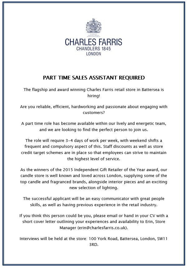 Production Controller Cover Letter