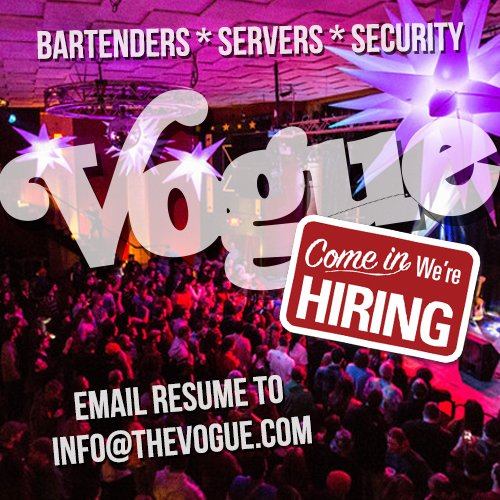The Vogue Theatre on Twitter \ - nightclub security resume