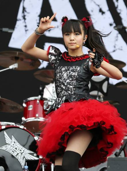 Moametal Wallpaper Cute Babymetal Newswire On Twitter Quot Quot Babymetal Short Skirts