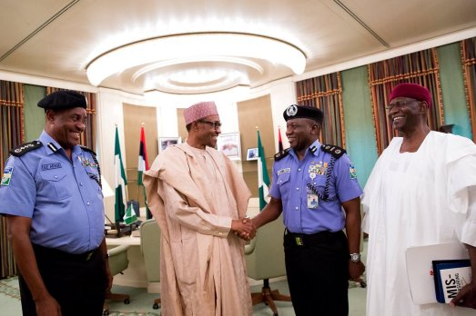 PHOTOS: Buhari Appoints Ibrahim Kpotum Idris As New Inspector General of Police