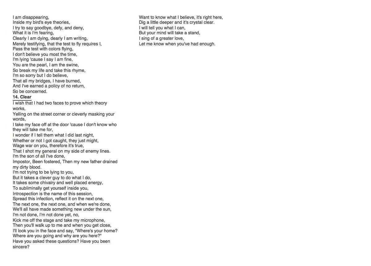 kitchen sink lyrics Retweets