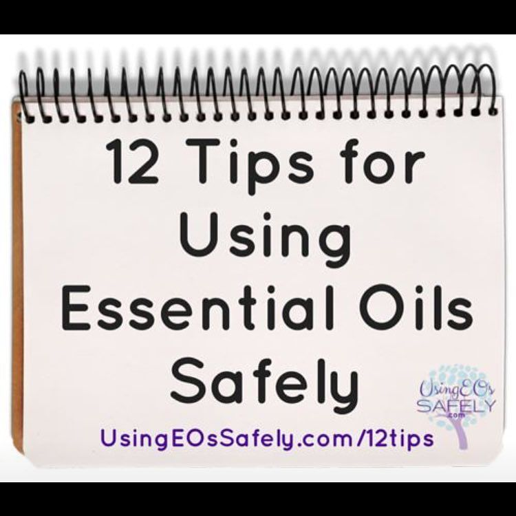 Lea Jacobson, CCA - Using Essential Oils Safely on Twitter \