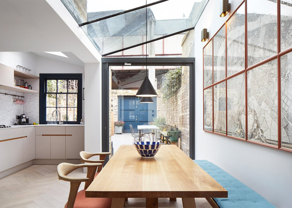 Glass Roof Extension Dezeen On Twitter