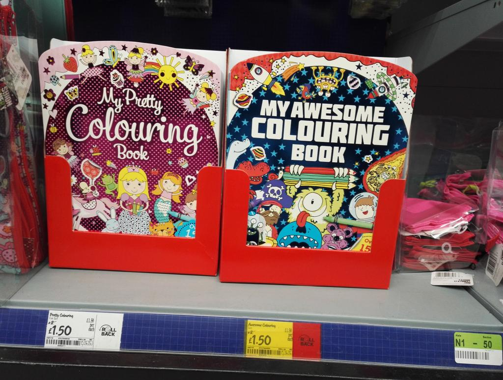 colouring books for adults asda : Colouring In Book Asda Samah Abbasi On Twitter Really Asda Pretty Colouring Book For Girls